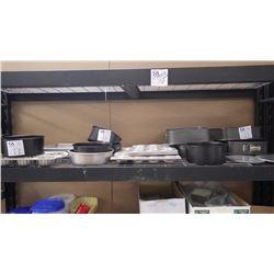 APPROX 4 TEFLON CAKE PANS, APPROX 11 ROUND TEFLON CAKE PANS, APPROX 4 CUPCAKE TRAYS.