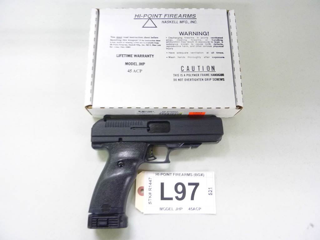 HI-POINT FIREARMS, MODEL JHP, CALIBER  45 ACP