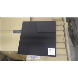 """Absolute Black 18"""" x 18"""" Granite Tile- 1 crate, 144 pieces approx 324sq ft retail value of 5032.00"""