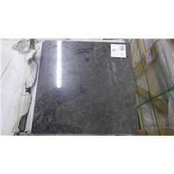 """Ubatuba 18"""" x 18"""" Granite Tile- 1 crate, 136 pieces approx 306sq ft retail value of 6793.00"""