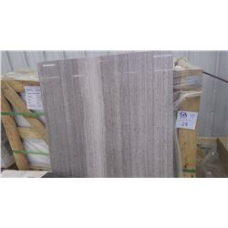 """Grey Woodridge Vein Cut 24"""" x 24"""" Marble Tile- 90 pieces approx 360 sq ft retail value of 6655.00"""
