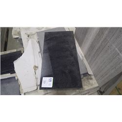 """Black Galaxy 12"""" x 24"""" Granite Tile- 1 crate, 195 pieces approx 390sq ft retail value of 8180.00"""