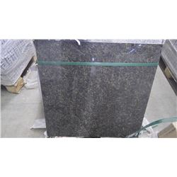 """Ubatuba 24"""" x 24"""" Granite Tile- 1 crate,90 pieces approx 360sq ft retail value of 15111.00"""