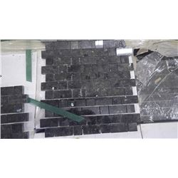 """Emerald Pearl 1"""" x 1"""", 1"""" x 2"""" Granite Mosaic- 12 boxes, 120 pieces, 120 sq.ft 12"""" x 12"""" approx 120s"""