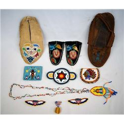Collection of Native American Beadwork
