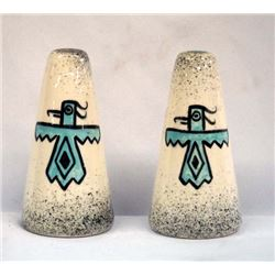 1950 Loma of Arizona Ceramic Salt & Pepper Shakers