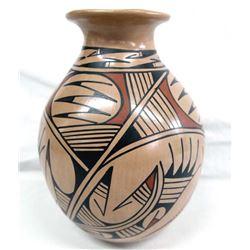 Mata Ortiz Polychrome Jar by Alejandra Soto