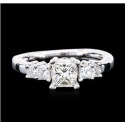 14KT White Gold 1.19 ctw Diamond Ring
