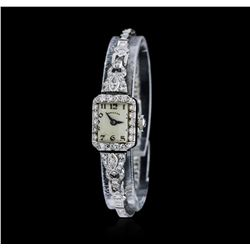 Ladies Vintage Hamilton Diamond Wristwatch