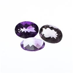 29.94 ctw. Oval Amethyst Parcel