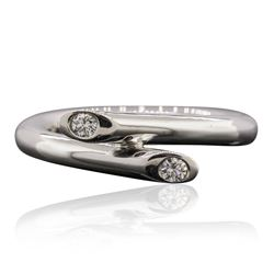 Platinum 0.09 ctw Diamond Ring