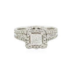 14KT White Gold 1.98 ctw Diamond Ring