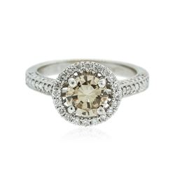 18KT White Gold 1.91 ctw Diamond Ring