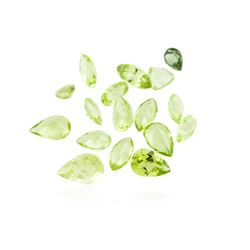 4.97 ctw. Natural Mixed Cut Peridot Parcel