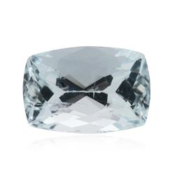 7.27 ctw Cushion Cut Natural Cushion Cut Aquamarine