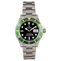 Gents Rolex Stainless Steel Submariner Anniversary Edition Wristwatch