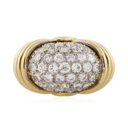 18KT Yellow Gold 1.34 ctw Diamond Ring