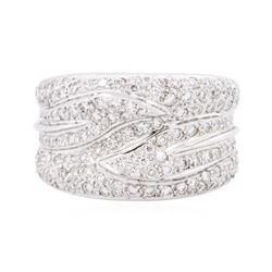18KT White Gold 1.13 ctw Diamond Ring