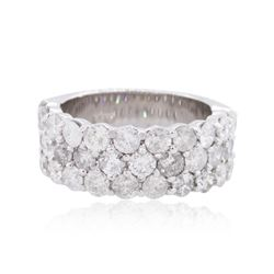 14KT White Gold 3.36 ctw Diamond Ring