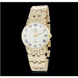 Ladies Omega Vintage 14KT Yellow Gold Wristwatch