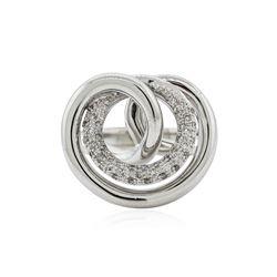 14KT White Gold 0.28 ctw Diamond Ring