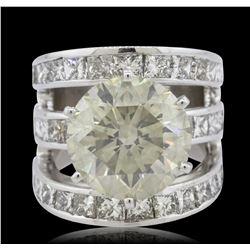 18KT White Gold 14.79 ctw Diamond Ring