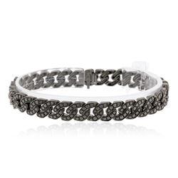 18KT Black Gold 8.00 ctw Diamond Bracelet