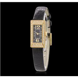 Marc Jacob Stainless Steel Diamond Wristwatch