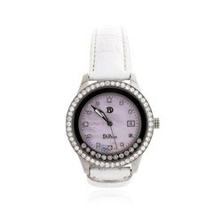 DiBur Stainless Steel Diamond Wristwatch