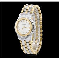 Ladies Two-Tone Gold Boucheron Wristwatch