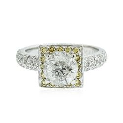 18KT White Gold 2.20 ctw Diamond Ring