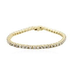 14KT Yellow Gold 4.94 ctw Diamond Bracelet