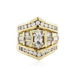 14KT Yellow Gold 2.16 ctw Diamond Ring