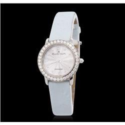 Blancpain Villeret 18KT White Gold Diamond Wristwatch