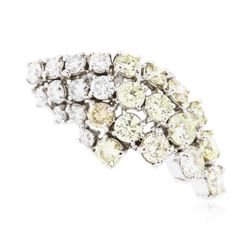 14KT White Gold 5.67 ctw Diamond Ring
