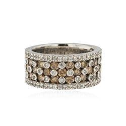 14KT White Gold 0.91 ctw Diamond Ring