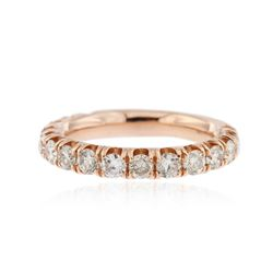 14KT Rose Gold 1.03 ctw Diamond Ring