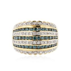 14KT Yellow Gold 1.54 ctw Diamond Ring