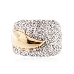 18KT Rose Gold 2.51 ctw Diamond Ring