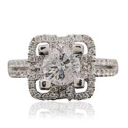 18KT White Gold 2.00 ctw Diamond Ring