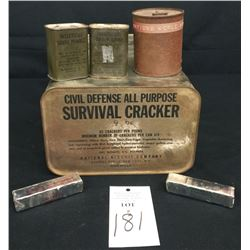 Vintage and WWII Era Surplus Rations