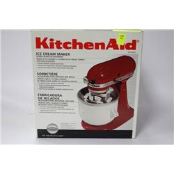 NEW KITCHENAID ICECREAM MAKER