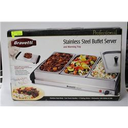 NEW BRAVETTI S/S  BUFFET SERVER