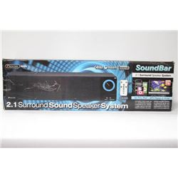 SENTRY SOUND BAR 2.1 SPEAKER FOR TV, IPOD & MP3