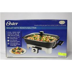 NEW OSTER SKILLET W/ REMOVEABLE PAN
