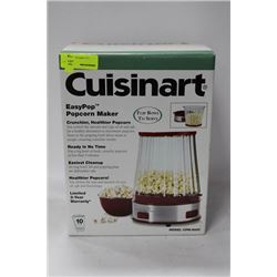 NEW CUISINART EASY POPCORN MAKER