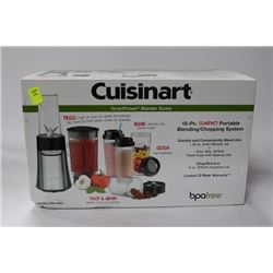 NEW CUISINART 15PC COMPACT BLENDING/CHOPPING SYSTM