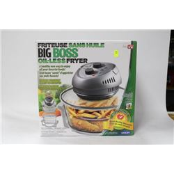 NEW BIG BOSS OIL-LESS FRYER
