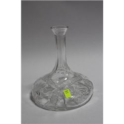 PINWHEEL CRYSTAL DECANTER NO STOPPER