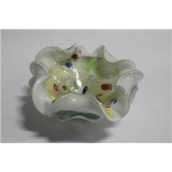 ART GLASS CANDY DISH